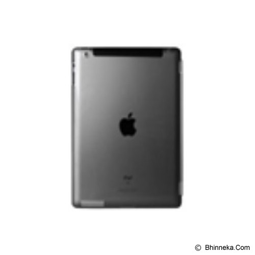 POWER SUPPORT Air Jacket Set For Apple iPad 2 [PIS-73] - Clear Black - Casing Tablet / Case